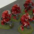 Blood Angels Terminator Assault Squad x5 painted Lot 15941