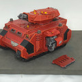 Blood Angels Razorback painted Lot 15944