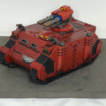 Blood Angels Razorback painted Lot 15943