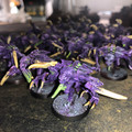 Genestealer Cult/Tyrranids Genestealers painted x 24 Lot 15948