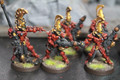 Eldar Fire Dragons painted x10 Lot 16023