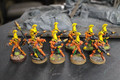 Eldar Fire Dragons painted x10 Lot 16024