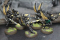 Eldar Swooping Hawks painted x5 (metal) Lot 16026