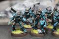 Eldar Striking Scorpions in blue painted x7 Lot 16030