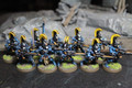 Eldar Dire Avengers painted x10 Lot 16037