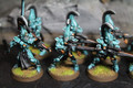 Eldar Dire Avengers painted x10 (light blue) Lot 16039
