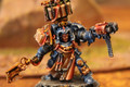 Space Marines Librarian in terminator armor (metal) painted Lot 16086