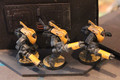 Tau Stealth Suits painted x3 Lot 16132