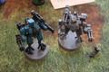 Tau Battlesuits x2 Lot 16179
