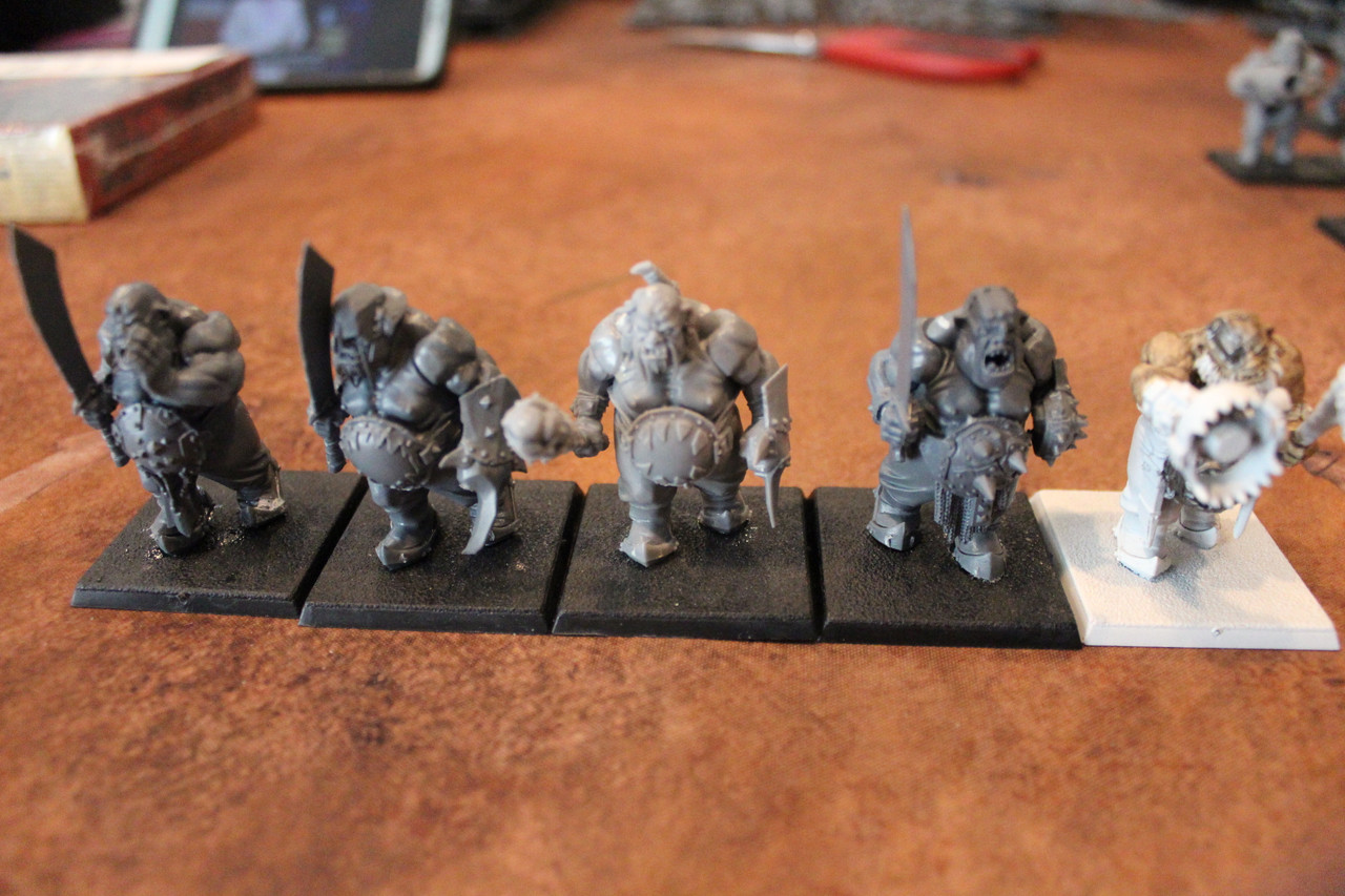 Warhammer Ogre Bulls Head B x 5