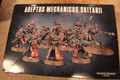 Mechanicus Infantry x10 NOS (no bases) Lot 16327