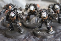 Terminator Close Combat squad x5 painted models Black Templars Lot 16375