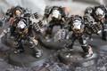 Terminator Close Combat squad x5 painted models Black Templars Lot 16375