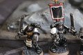 Black Templars x5 painted Lot 16376