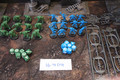 Blood Bowl figures and accessories Lot 16404 (plus cards)