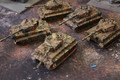 Bolt Action Tiger Company x5 models Lot 16405