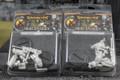 Warmachine Mercenaries Hammerfall High Shield Officer and Standard x2  Lot 1295