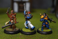 Cygnar Warcaster Stryker x2 and Journeymen x1  Lot 3146