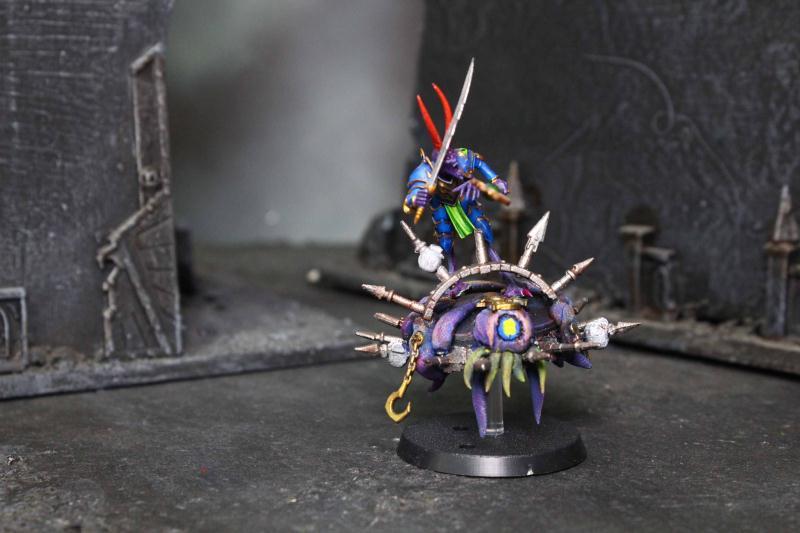 kuuma tuote uusi tyyli Julkaisupäivä: Chaos Daemons Champion of Tzeentch on Disc Lot 4074 - Blue ...