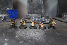 Imperial Guard Cadian Command Squad Lot 5375 Blue Table Painting Store