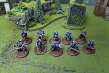 Cygnar Trenchers Lot 5582 Blue Table Painting Store