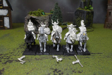 Warriors of Chaos Marauder Horsemen Lot 5905 Blue Table Painting Store