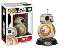 Funko Pop Star Wars BB-8 Vinyl Bobble Head Figure + Pop Protector