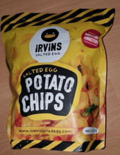 Irvins Salted Egg Potato Crisp Snack Singapore 230g Large Pack