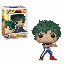 Funko POP! Animation: My Hero Academia - Deku (Training) + Pop Protector