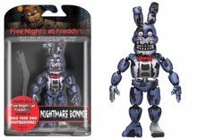 Funko Five Nights at Freddy's Nightmare Bonnie Action Figure 5""