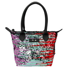 Depesche 10102 Trend Love Black Grab Bag With Sequins