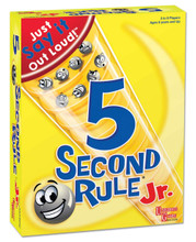 5 Second Rule Junior Jr Board Game