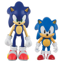 TOMY Sonic Collector Series 2 Figure Pack With Comic Classic & Modern TV Movie