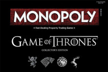 Monopoly Game of Thrones Collector's Edition Board