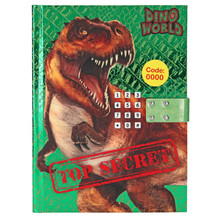 Depesche Dino World Secret Code Diary with Sound