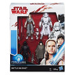 STAR WARS the Last Jedi Battle on Crait - Force Link - 4 pack action figures