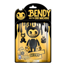 "Bendy And The Ink Machine - Yellow Bendy - 5"" Action Figure - Series 2"