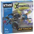 K'Nex 17063 Battlers-X-Saw Attacker Building Set-92 Pieces