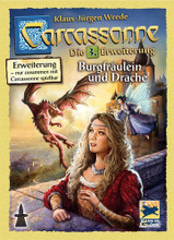 Carcassonne Board Game Expansion 3 Princess And The Dragon (2016 Eng Edition)