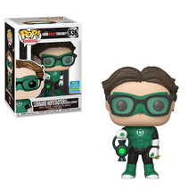 Funko Pop Leonard Hofstadter Green Lantern 836 Big Bang Theory + Pop Protector