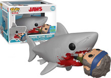 Funko Pop! Movies #760 Jaws Eating Quint (2019 Summer Convention Exclusive)