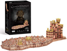 Game of Thrones 3D Puzzle of Kings Landing