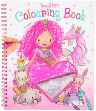Depesche Colouring Book Princess Mimi and Friends Colourful