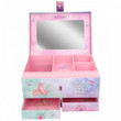 Depesche FANTASY MODEL Large JEWELLERY BOX with CODE & SOUND Ballerina BALLET