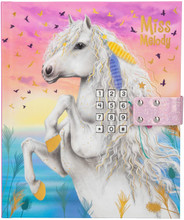 Depesche Miss Melody Diary Secret Code Diary in Pink - 10858_A