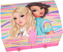 TOPModel LARGE JEWELLERY BOX with CODE & SOUND Pink