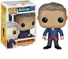 Funko POP TV: Doctor Who - Dr #12 - Action Figure + Pop Protector