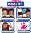 FailFix Loves.Glam Total Makeover Pack, 8.5 inch Doll with Long Curly Brunette