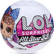 L.O.L. Surprise! All-Star B.B.s Cheer Team Collectable Sparkly Dolls x 1
