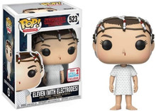Funko Pop! Stranger Things Eleven (with Electrodes) #523 + Pop Protector